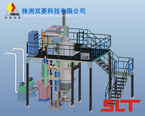 EIGA Titanium Powder Gas Atomization Equipment