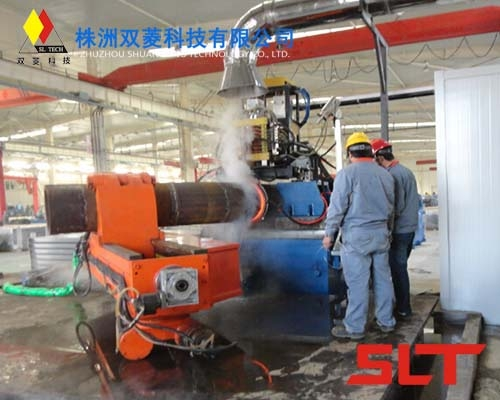 SLZPW Series MF Induction Heating Pipe Bending Machine
