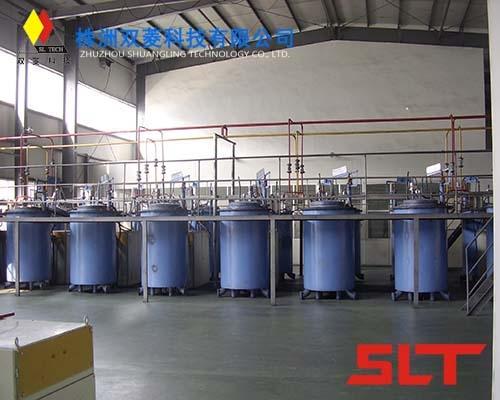Medium frequency carbonization furnace