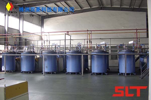 Medium frequency carbonization furnace